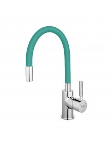 Ferro Zumba egykaros mosogató csaptelep elasztikus menta kifolyócsővel BZA4M