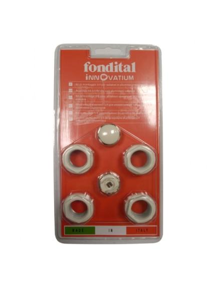 Fondital Exclusivo szerelési egységcsomag (tartó konzol nélkül) A80