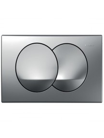 Geberit Delta 20 működtető nyomólap Delta 12cm (UP100) WC tartályokhoz matt króm színben 115.100.46.1