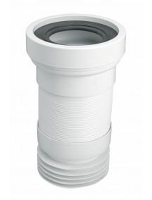 Mc Alpine HC Wc bekötő flexibiliscső, lamellás, 230mm-440mm-ig nyújtható