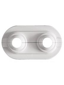 Herz univerzális dupla csőtakaró 50 mm tengelytávra