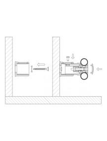Pucihar O2 törölköző szárító radiátor konzol fehér - 1853