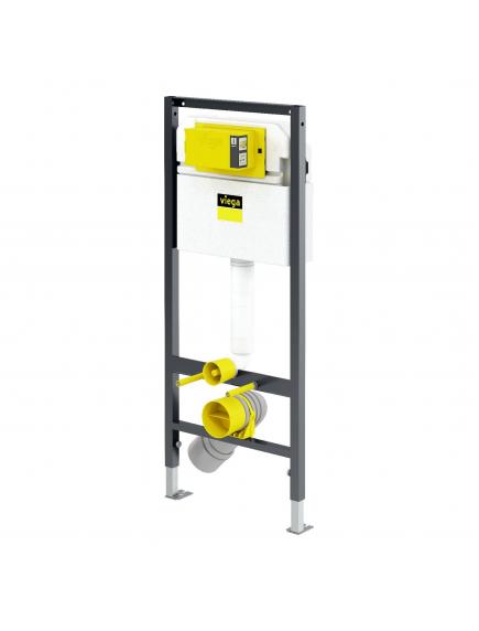 Viega Prevista Dry fali WC szerelőelem 3H típusú falsík alatti öblítőtartállyal 771 973