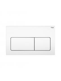 Viega Visign for Life 5 működtető nyomólap Prevista WC elemekhez fehér színű 773 731