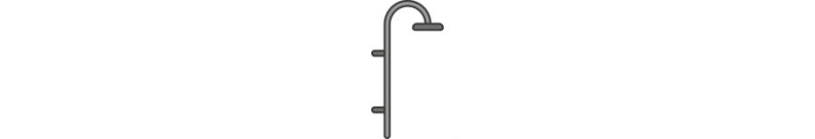 Zuhanyrendszer, zuhanyfej, zuhanygégecső
