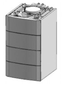 Remeha 220l-es SHL tároló Calora 25S Álló kondenzációs gázkazánhoz