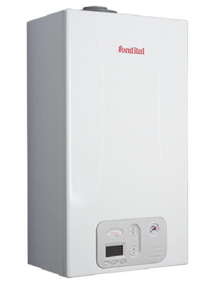 Fondital ANTEA Condensing KC 12 kondenzációs gázkazán elektronikus szivattyúval kombi változatban