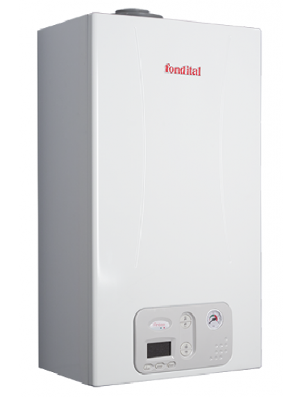 Fondital ANTEA Condensing KRB 24 kondenzációs gázkazán beépített váltószelepes fűtő változatban