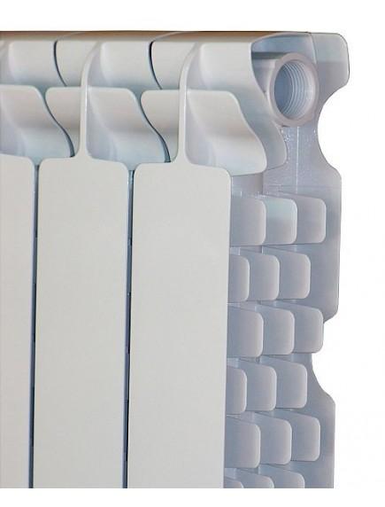 Fondital Solar Exclusivo présöntött, tagosítható alumínium radiátor 600/100 modell, 12 tagos