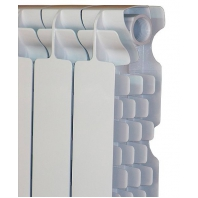Fondital Solar Exclusivo présöntött, tagosítható alumínium radiátor 600/100 modell, 4 tagos