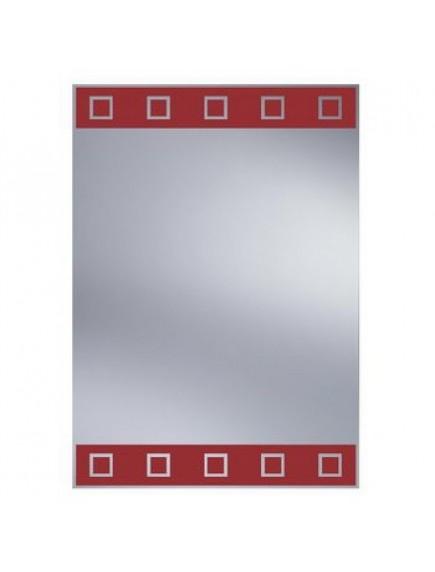 HB DV. N6 R mintás tükör 35x50, vörös