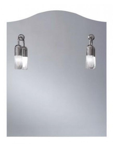 HB DV. Talia tükör hagyományos, izzós világítással