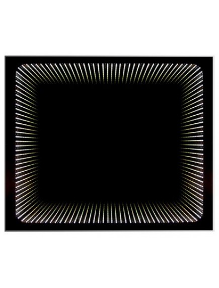 HB DV. Wenecja tükör világítással, 3D hatással 65x79