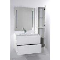HB ELIT függesztett fürdőszoba szekrény FEHÉR 30cm