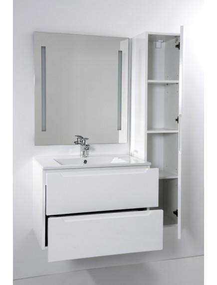 HB ELIT két fiókos fürdőszobabútor mosdóval FEHÉR 60CM