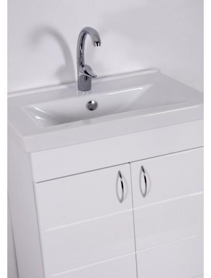 HB HÉRA 65 SoftMart mosdós fürdőszobaszekrény