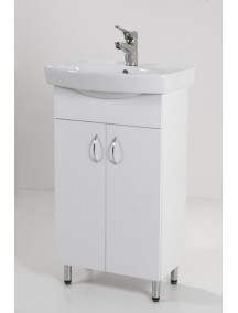 HB Light 50 mosdós fürdőszoba szekrény mosdóval