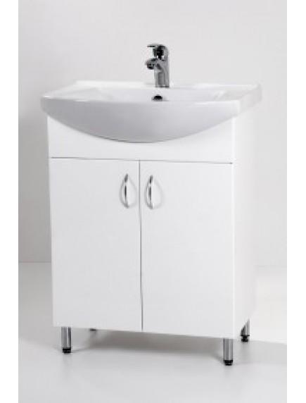 HB Standard SA65 mosdós fürdőszoba szekrény