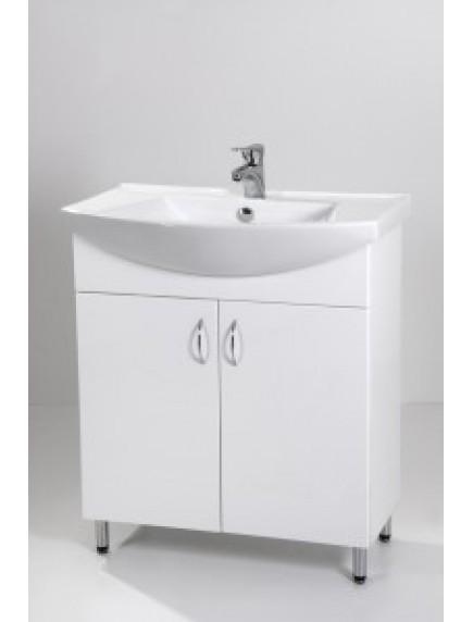 HB Standard SA75 mosdós fürdőszoba szekrény