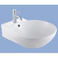 Alföldi Dew 47 mosdó 47x56cm, falra rögzíthető, fehér  7019 47 01
