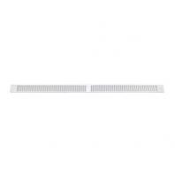 Aereco DP 0390 nyílászáróba építhető, külső, keskeny rovarrács, fehér