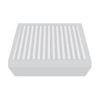 Aereco FBE 1089 konyhai zsírszűrő, mosható, alumínium, BXC típusú légelvezetőkhöz