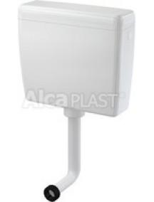 Alcaplast A93 UNI DUAL 2 nyomógombos WC tartály, fehér színű