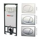 Alcaplast A101 nyomólapos WC szett  ...
