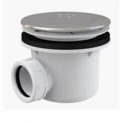 Alcaplast A49K Lux zuhanytálca szifon fém 90 mm