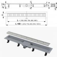 Alcaplast APZ10 zuhanyfolyóka 850M