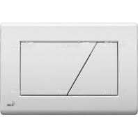 Alcaplast M170 nyomólap, falsík alatti rendszerekhez, fehér színű