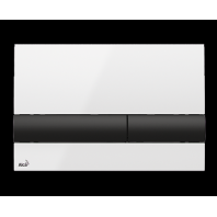 Alcaplast M1710-8 nyomolap, fehér és fekete