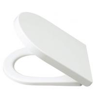 Alcaplast műanyag WC ülőke, fehér színű - Soft close - lecsapódás-gátlóval, szögletes