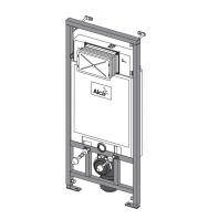 Alcaplast WC szerelő rendszer A101/1200E, gipszkarton falhoz