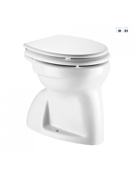 Alföldi Bázis laposöblítésű gyerek WC, alsó kifolyású, Easyplus bevonat, fehér 4004 00 R1