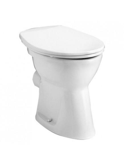 Alföldi WC csésze bázis 4030 00 R1, easyplus bevonat, hátsó kifolyású, lapos öblítéssel