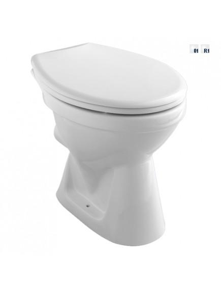 Alföldi WC csésze bázis 4031 01 01, fehér, hátsó kifolyású, mély öblítéssel