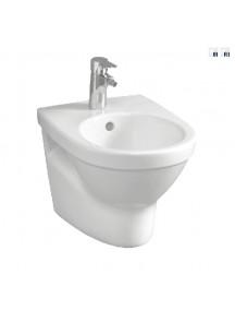 Alföldi Melina falibidé, 1 furattal középen, fehér színű, Easyplus bevonattal 5598 59 R1