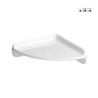 Alföldi Bázis sarokpolc 22,5 cm, fehér 4637 00 01