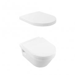 Alföldi Formo Fali WC-szett mélyöblítésű, fehér 7060 H1 01