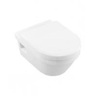 Alföldi Formo Fali WC mélyöblítésű, Easyplus bevonattal, fehér 7060 10 R1
