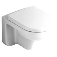 Alföldi Liner fali WC, mélyöblítésű, Easyplus bevonat 6638 L1 R1