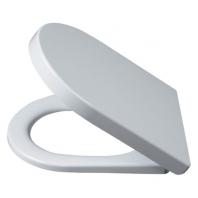 Alföldi Liner WC-ülőke, duroplast, fém zsanérral, Soft Closing rendszerrel (csapódás mentes záródás) 9M23 S1 01