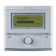 Bosch FW 120 időjáráskövető szabályozó homogén fűtési rendszerhez, heti programozású