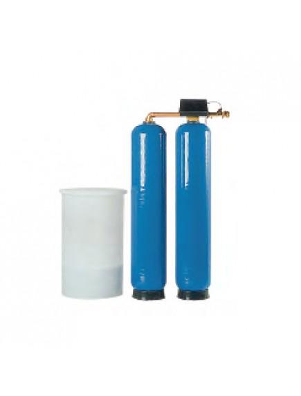 BWT VAD 45F PRO S, 2,7 M3/H, Kétoszlopos folyamatos üzemű automata vízlágyító / mennyiségvezérelt