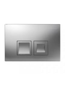 Geberit Delta 50 működtető nyomólap Delta 12cm (UP100) WC tartályokhoz matt króm színben 115.135.46.1