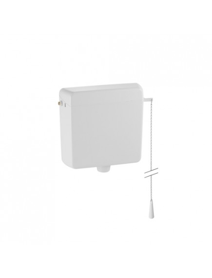 Geberit WC tartály AP123 magasra szerelhető, falon kívüli (mechanikus vezérlés) alpin fehér
