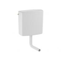 Geberit AP140 alacsonyra szerelhető falon kívüli öblítőtartály (2 mennyiséges) alpin fehér