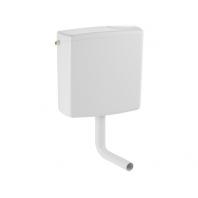 Geberit AP140 alacsonyra szerelhető falon kívüli öblítőtartály (öblítés-stop) alpin fehér