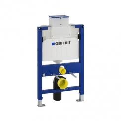 Geberit Duofix alacsony (82cm) WC szerelőelem fali WC részére, UP200 öblítőtartállyal Kappa Család